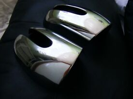 MERCEDES C CLASS W203 COUPE CHROME USED MIRROR COVERS