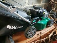 Qualcast self propelled petrol lawnmower, only used once