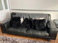 2 an 3 seated sofa