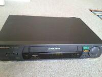 PANASONIC NV-HD640 VCR VIDEO RECORDER including Remote Control