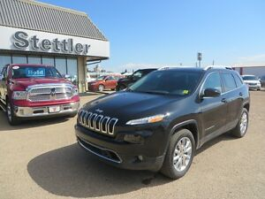 2016 Jeep Cherokee LIMITED ADAPTIVE CRUISE! RARE INTERIOR!
