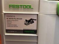 FESTOOL 574420 DOMINO XL Jointing Machine DF 700 EQ-Plus GB 240V