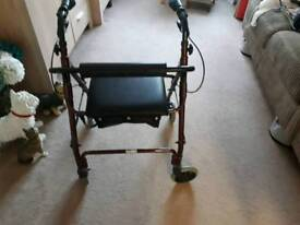 Mobility 4 wheel walker