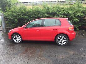 VW GOLF 1.6TDI 4DOOR 2011