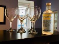 Set of Gin Goblets (5 glasses)