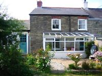 Double room to rent in lovely St Agnes cottage