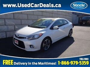 2014 Kia FORTE KOUP 2.0L EX Sunroof Htd Seats Bluetooth