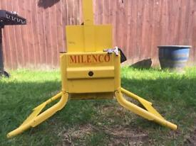 Milenco 16in wheel clamp