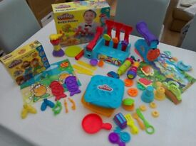 Playdough tubs and cutters / moulds, great condition