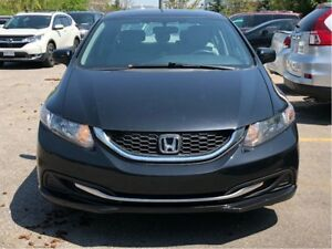 2014 Honda Civic Sedan LX 5MT - ACCIDENT-FREE, 1 OWNER