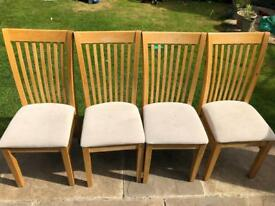 4 John Lewis Dining Chairs