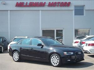 2014 Audi A4 2.0 AWD KOMFORT / LEATHER / SUNROOF / MUST SEE