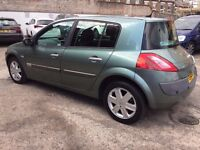 RENAULT MEGANE 2.0 AUTOMATIC 5 DOOR EXCELLENT CONDITION IN AND OUT HPI CLEAR DRIVES GREAT NO FAULTS!