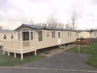 Cheap 3 bedroom caravan for sale in Tenby on Kiln Park 2017 site fees included
