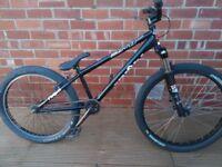 "DMR Drone Jump bike 24"", black"