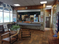 Hot and Cold Food including Newspapers etc Kiosk within Train Station for sale Fixed Price of £5000