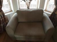 Two seater sofa bed chair