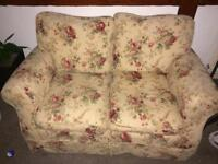 Laura Ashley 2 seater sofa and armchair