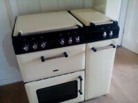 duel fuel range cooker for sa!e,