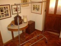 Wheeled Clothes Rack - extendable and dismantles with allen keys