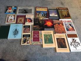 Collection of religious books (over 40 books)
