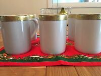 Boots Imperial Gold Tableware - 6 x Coffee Mugs