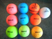 10 VOLVIK golf balls in super condition
