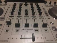 Pearl White Pioneer DDJ SX Controller As New With Flight Case