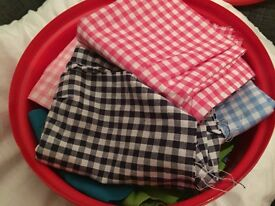 For sale box of mix of fabrics