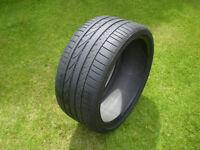 BMW 3 series tyre