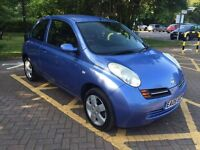 Nissan Micra 1.2 3dr, Automatic, A/C, Electric Windows/Mirrors, Air Bag, CD ,Keyless Entry,Hpi Clear