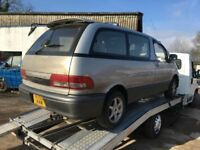 TOYOTA LUCIDA ESTIMA PREVIA 2.2 DIESEL BREAKING PARTS OR WHOLE CAR £250