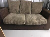 2/3 seater sofa and chair. Set or individual.