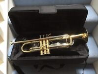 Quality Bb Trumpet in pristine condition, almost new, with luxury, light instrument case