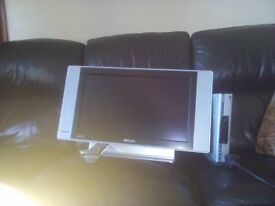 HD TV and freeview box