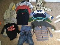 Boys clothes bundle 12 - 18 months (autumn/winter)