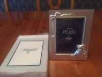 Christening gift photo frame