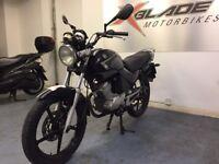 Yamaha YBR 125cc Manual Motorcycle, Starts and Runs, Spare or Repair, Cat C