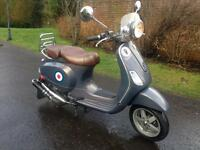 57 PIAGGIO VESPA LXV 50 STUNNING MOPED LOW MILES may swap px