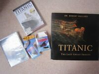 Book: Titanic - The last Great Images by Robert Ballard - plus Titanic DVD option