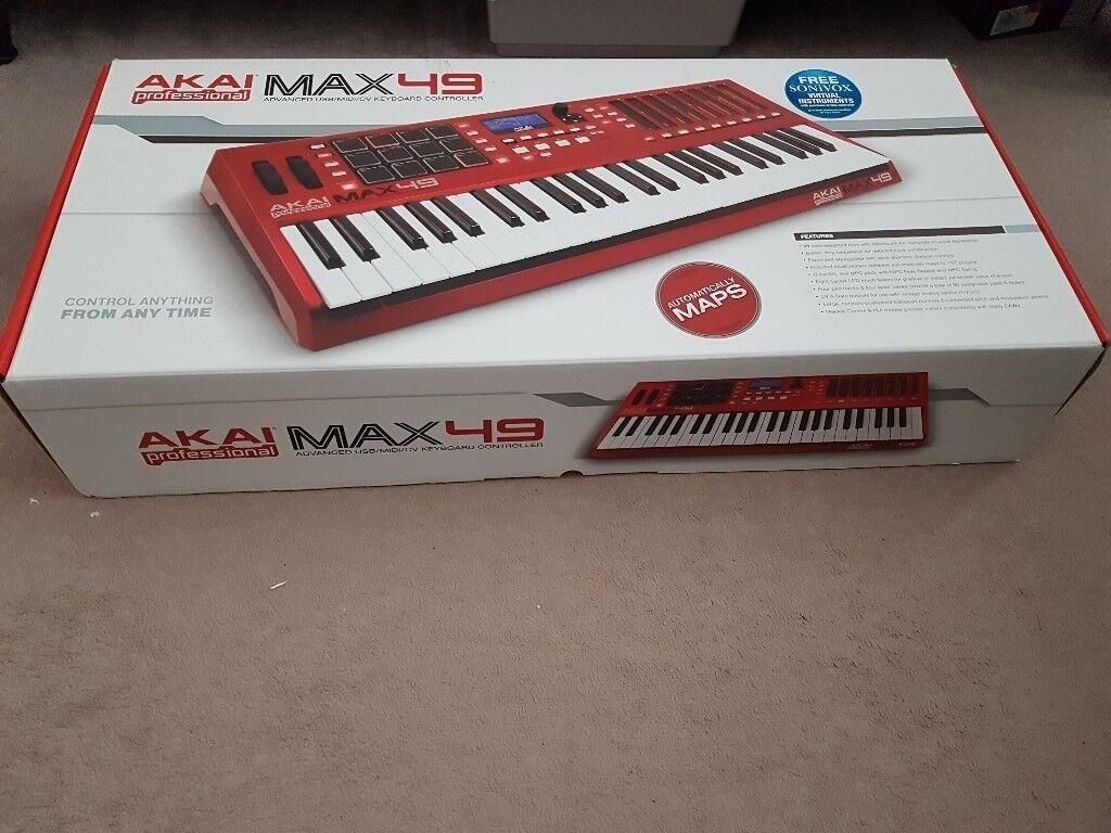 AKAI MAX49 LIMITED EDITION MIDI KEYBOARD