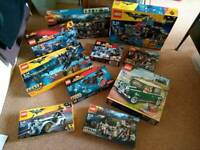 Large Lego Collection (unopened, complete sets)
