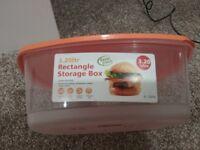 3.20 ltr rectangle storage box