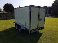 Twin axle box van trailer twin axle with brakes - Full EU Only £2600 plus vat