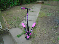 Fliker a3 pink scooter cheap bargain kids toy