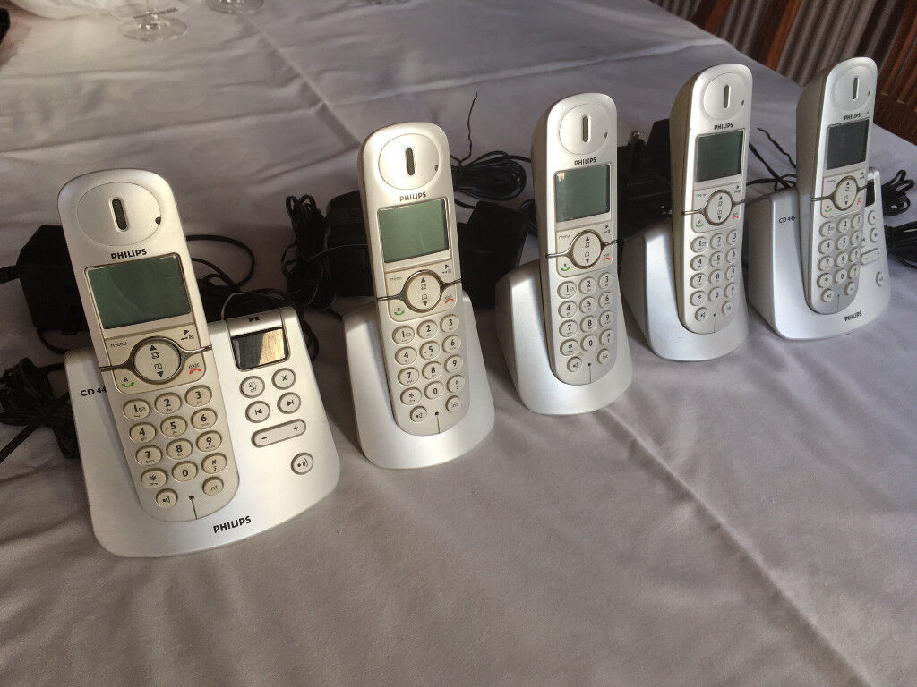 Philips CD445 Cordless Telephone Set/Sets (Price REDUCED)