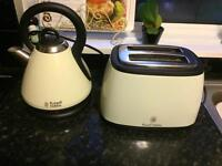 Russel Hobbs kettle and toaster