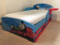 Thomas Tank Engine toddlers bed & mattress