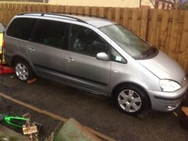 Ford galaxy 7 seater 2004 faclift