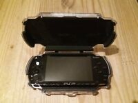 Sony Psp With memory card and 10 original games